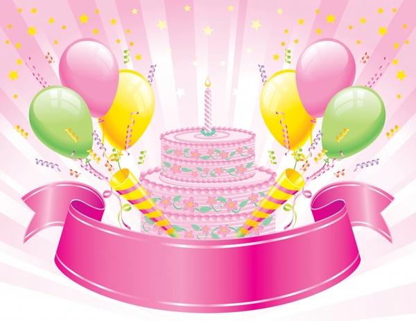 Birthday tarpaulin background free vector download (49,910 Free