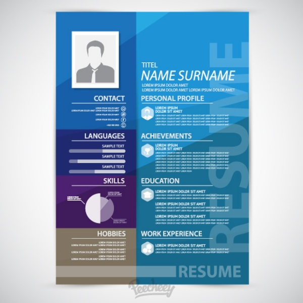 Resume vector free vector download (24 Free vector) for commercial