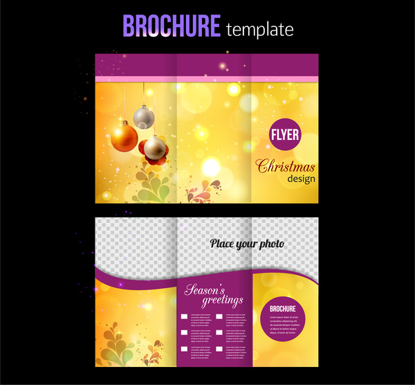 Media brochure free vector download (3,290 Free vector) for - product brochure template