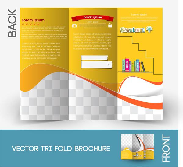 Brochure template Free vector in Adobe Illustrator ai ( ai ) vector - template