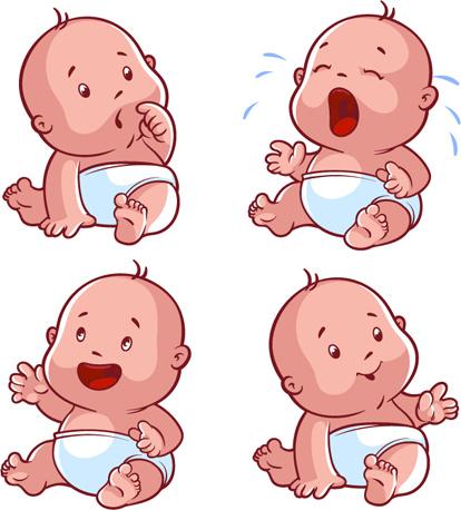 New Cute Baby Girl Wallpapers Cartoon Baby Cute Design Vector Free Vector In