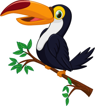 Small Size Car Wallpapers Cartoon Toucan Bird Vector Free Vector In Encapsulated