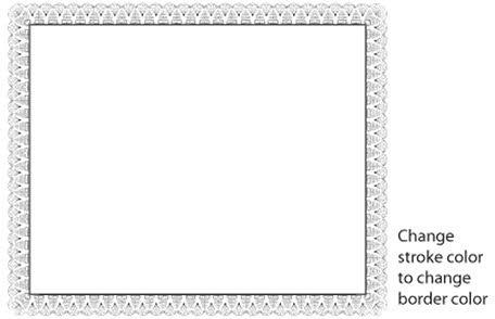 Certificate border vector Free vector in Adobe Illustrator ai ( ai - free download certificate borders