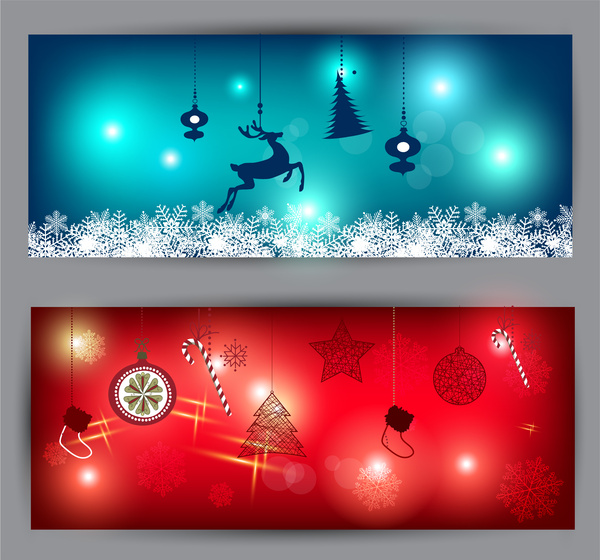 Christmas banner template free vector download (25,381 Free vector - christmas template free