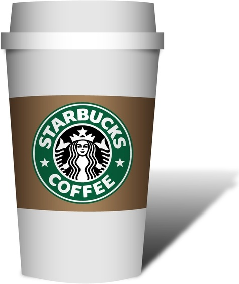Coffe Starbucks Free vector in Adobe Illustrator ai ( ai ) vector