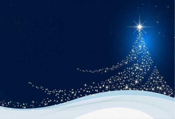 Elegant Christmas tree Free vector in Adobe Illustrator ai ( AI