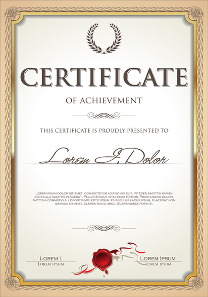 Vector filigree certificate frame free vector download (6,406 Free