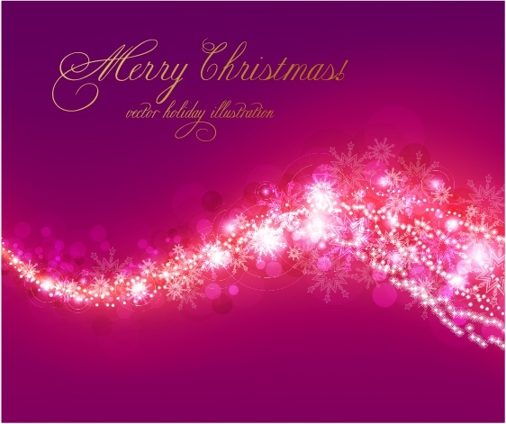 Fancy christmas background pattern vector Free vector in