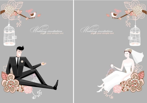 Wallpaper Pink Girl Cartoon Wedding Background Free Vector Download 49 317 Free
