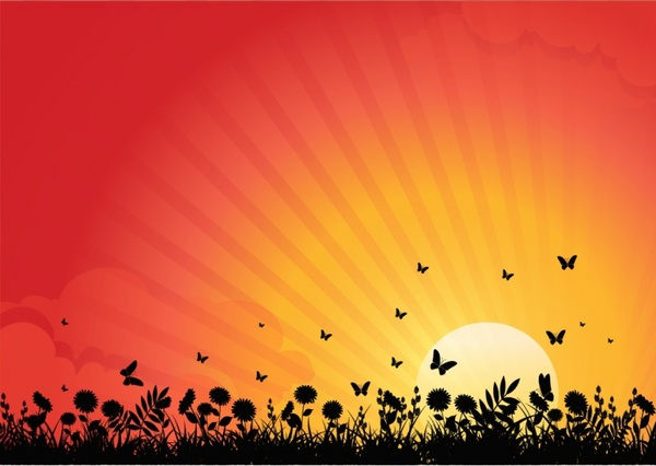 African Girl Wallpaper Sunset Free Vector Download 285 Free Vector For