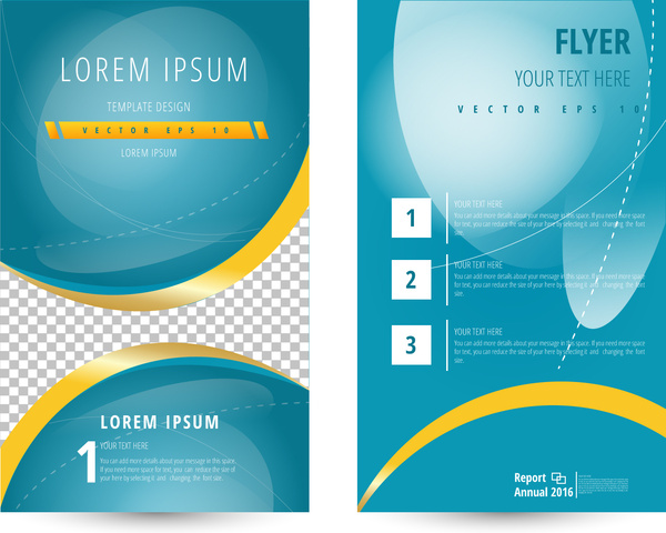 Flyer template abstract geometric free vector download (24,291 Free