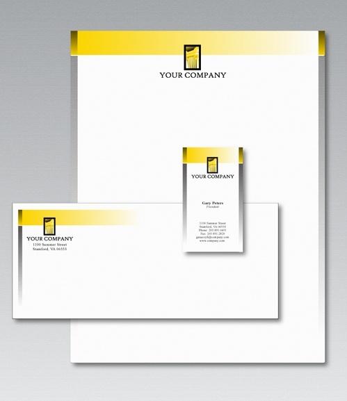 Free Stationery Design Template Free vector in Adobe Illustrator ai