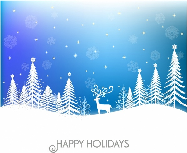 Holiday Background Free vector in Adobe Illustrator ai ( AI