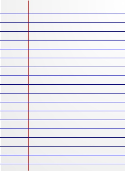 Lined paper icon Free vector in Open office drawing svg ( svg