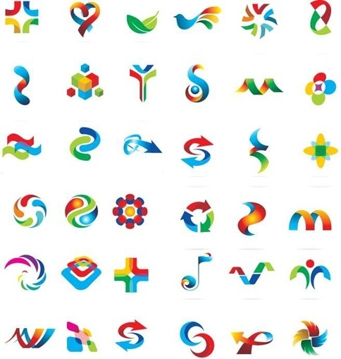 Logo Design Template Vector Elements Free vector in Encapsulated