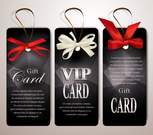 Luxury club cards design elements vector Free vector in Adobe - club card design