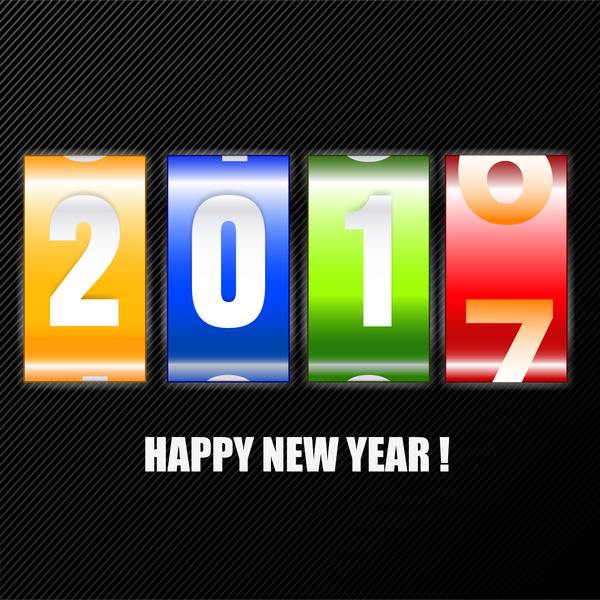 New year poster template free vector download (19,978 Free vector - new year poster template