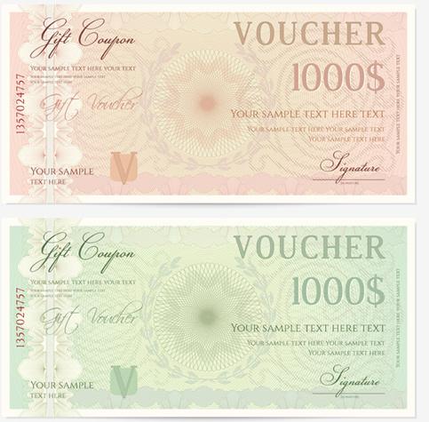 money voucher template - Josemulinohouse