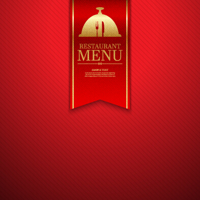 Ornate restaurant menu background art Free vector in Encapsulated