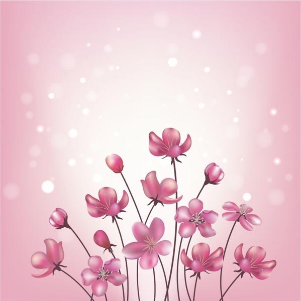 Happy Mothers Day Hd Wallpaper Pink Flower Corner Border Free Vector Download 16 635