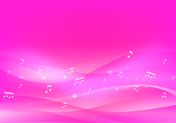 Pink music background Free vector in Adobe Illustrator ai ( ai