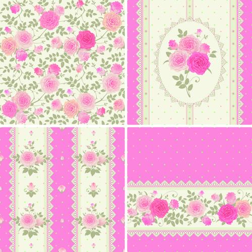 Vintage Car Wallpaper Border Rose Pattern Free Vector Download 19 932 Free Vector For