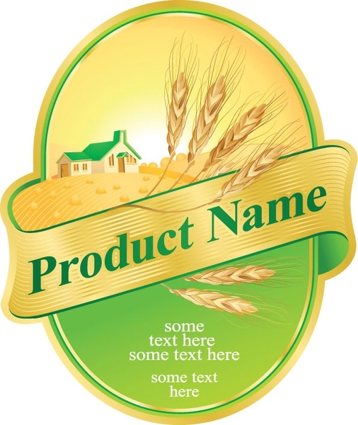 Product label design 05 vector Free vector in Encapsulated