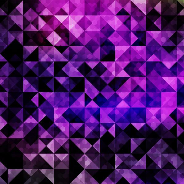Vintage Car Wallpaper Transparent Purple Polygonal Background Free Vector In Adobe