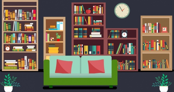 Girl Reading Book Wallpapers Reading Free Vector Download 259 Free Vector For