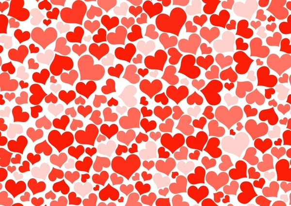 Red hearts wallpaper Free stock photos in JPEG (jpg) 7016x4961