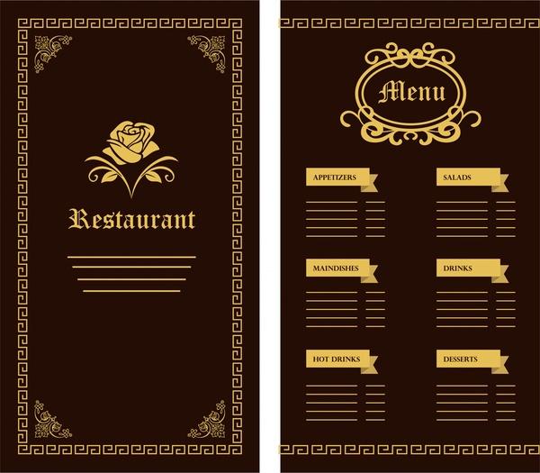 Restaurant Menu Food Craft Restaurant, Arera Colony Menu Food - free restaurant menu template word