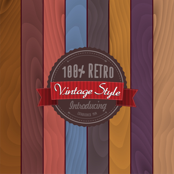 Vintage style brochure template design free vector download (26,029 - retro brochure template
