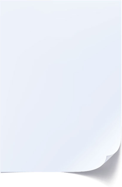 Set of blank paper design vector Free vector in Encapsulated - paper