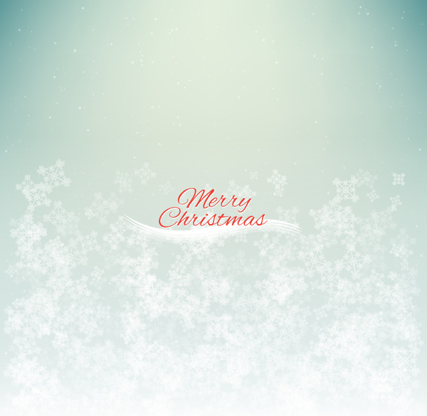 Snow merry christmas background Free vector in Adobe Illustrator ai