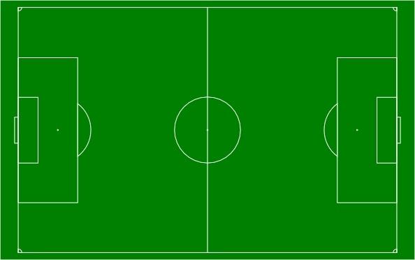 Car Wallpaper Clipart Soccer Field Football Pitch Clip Art Free Vector In Open