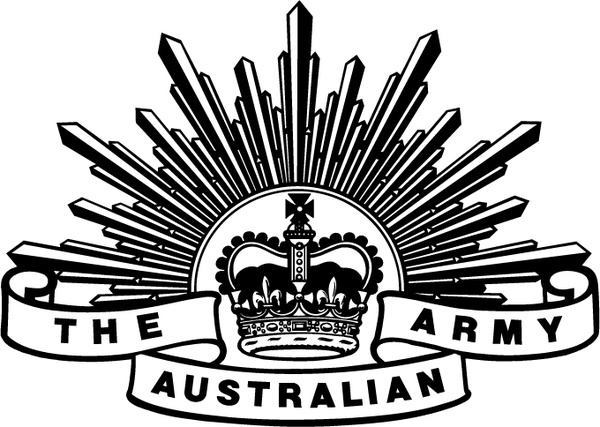 The Australian Army Free Vector In Encapsulated Postscript