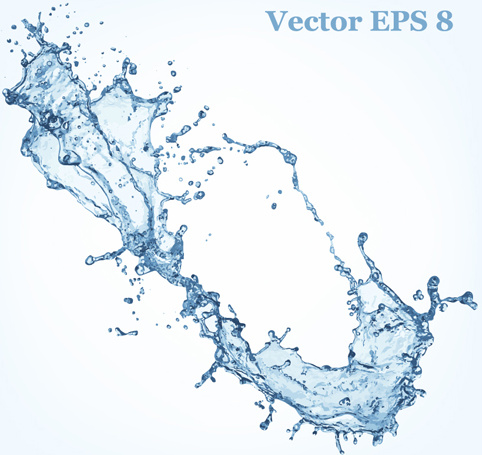 Half Fire Half Water Car Wallpapers Transparent Water Splash Effect Vector Background Free