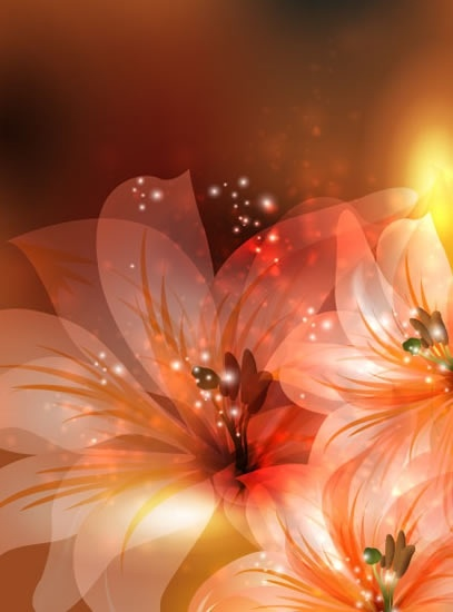 Hd Fantasy Girl Wallpapers 1080p Vector Fantasy Flowers Background Free Vector In
