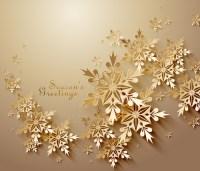 Vector snowflake creative background design Free vector in ...