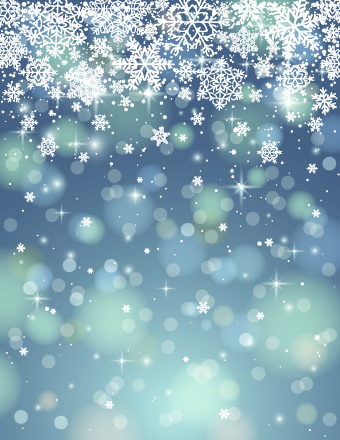 Real Snowflakes Falling Wallpaper Vector Winter Snowflakes Background Free Vector In