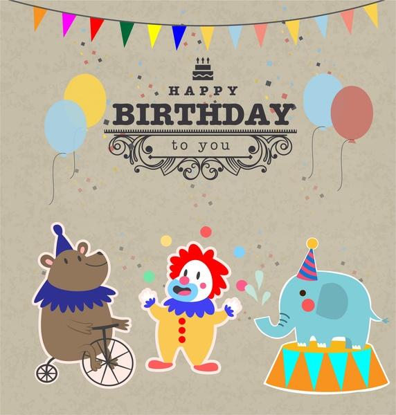 Vintage birthday invitation template free vector download (19,236 - format for birthday invitation