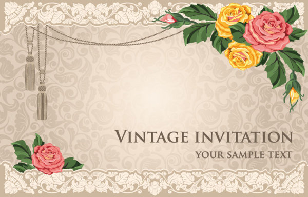 background of invitation card - Yokkubkireklamowe