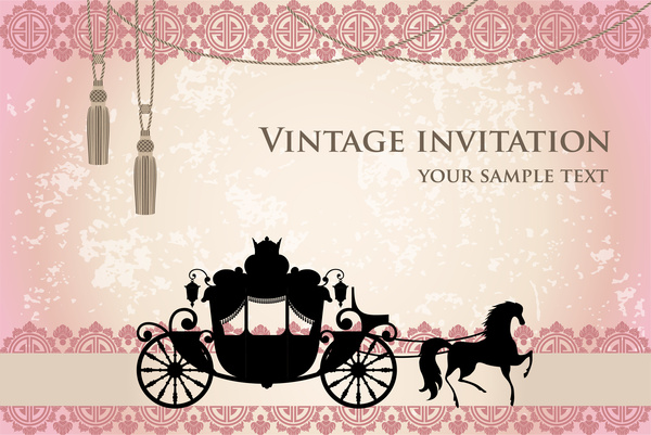 Vintage birthday invitation template free vector download (19,481 - free birthday invite template