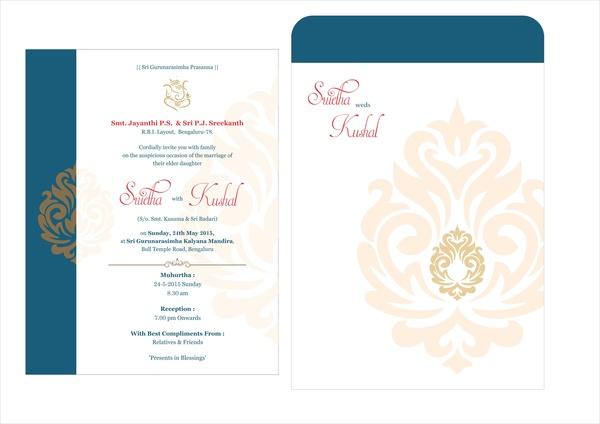 Wedding card design Free vector in Coreldraw cdr ( cdr ) vector - wedding card designing