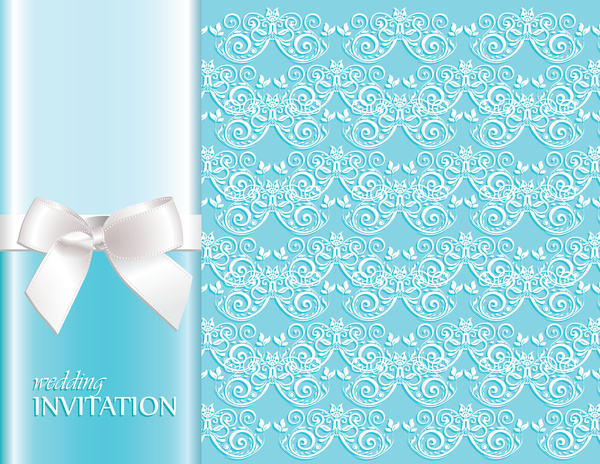 Wedding invitation background Free vector in Adobe Illustrator ai
