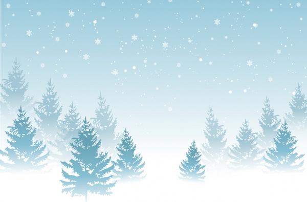 Portland Or Fall Had Wallpaper Winter Background Free Vector In Adobe Illustrator Ai