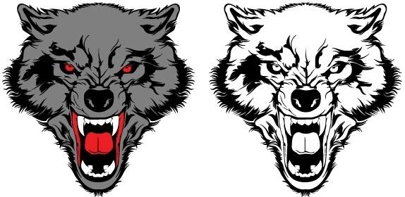 Wolf Vector Free vector in Encapsulated PostScript eps ( eps