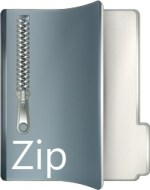 Download Zip File Icon