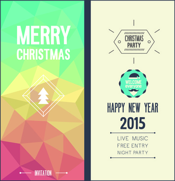 Blank christmas invite free vector download (10,390 Free vector) for