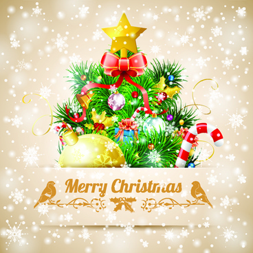 Modern merry christmas card sample free vector download (23,999 Free